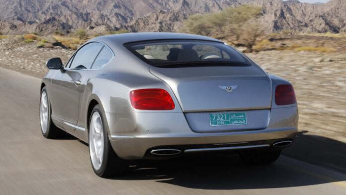 Das Heck des Bentley Continental GT.