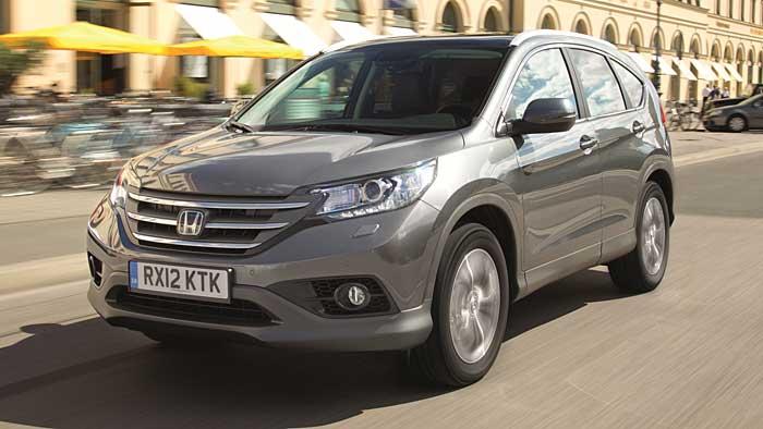 Honda CR-V: Softroader mit Hang zum Sparen