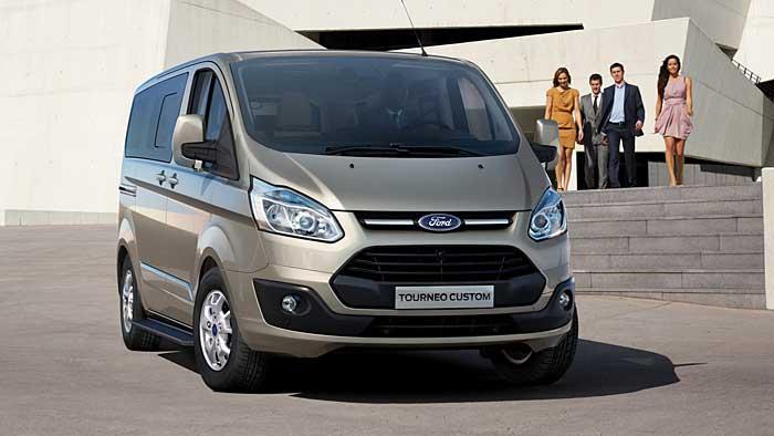 Der Ford Tourneo Custom