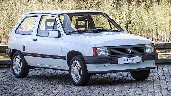 Der Opel Corsa A verließ erstmals 1982 die Produktionshallen.