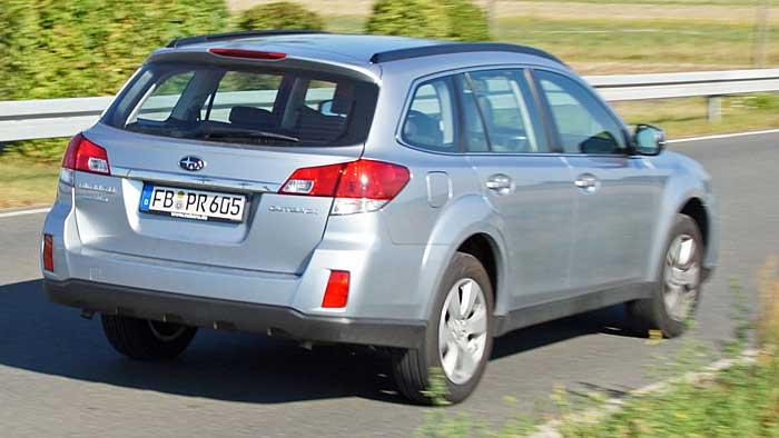 Der Subaru Outback 3.6 R ist nur etwas für ausgesprochene Individualisten.