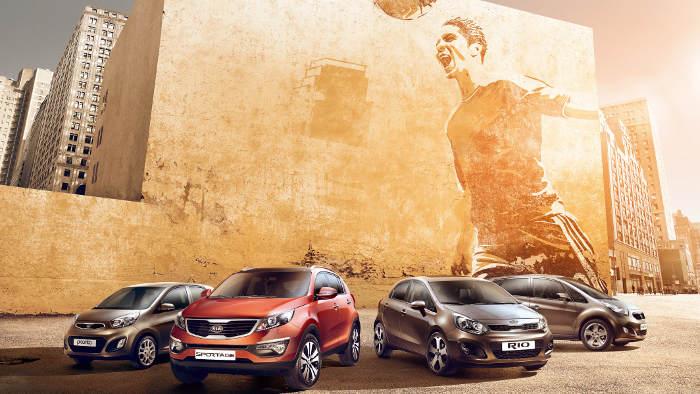 Kia schickt vom Picanto, Venga, Sportage und Rio Sondermodelle auf den Markt.
