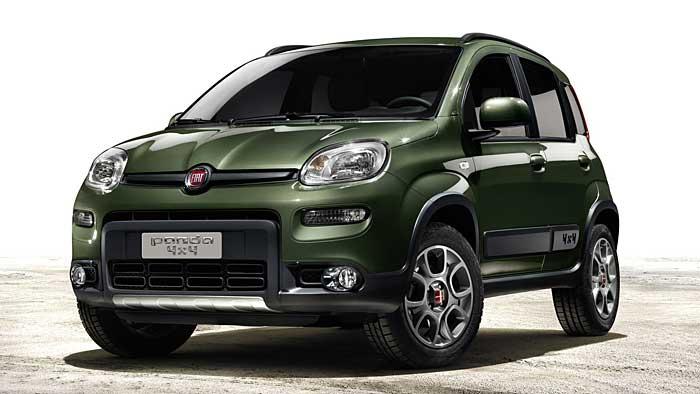 Fiat legt den Panda 4x4 neu auf.
