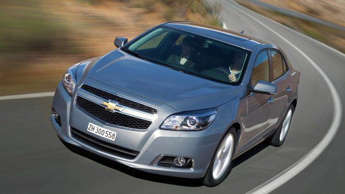 Bei GM sind zahlreiche Modelle des Chevrolet Malibu betroffen.