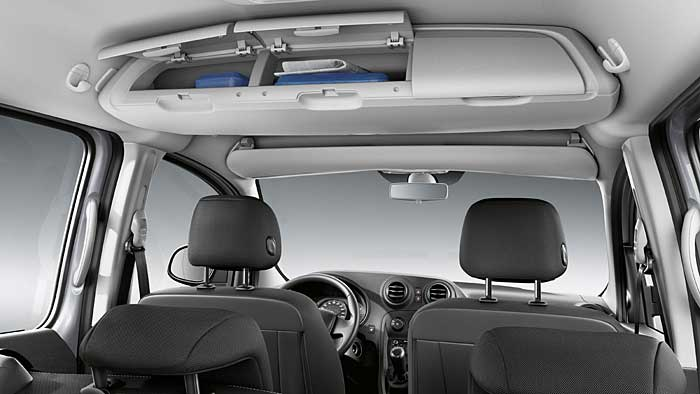 Der Mercedes Citan basiert auf dem Renault Kangoo.
