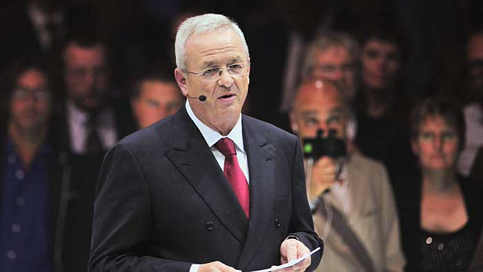 VW-Chef Martin Winterkorn