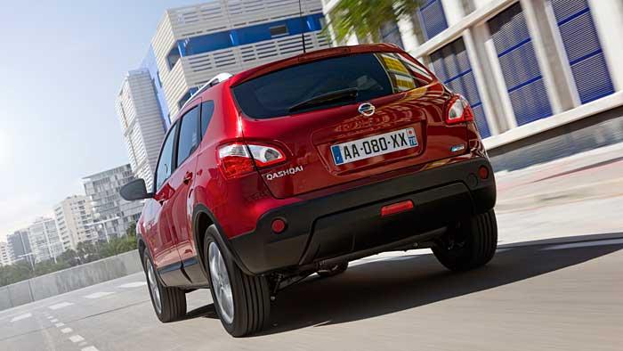 Der Nissan Qashqai+2 kann es auch mit Kompakt-Vans aufnehmen.