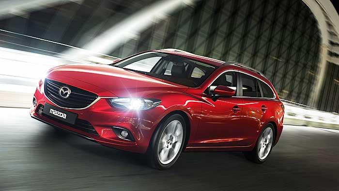 Der Mazda6 Kombi kommt am 2. Februar auf den Markt.