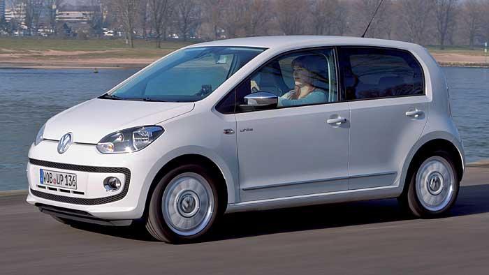 Der VW Up hat mit dem Skoda Citigo und dem Seat Mii Geschwister.