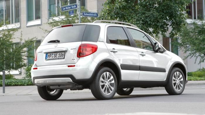 Suzuki SX4 kommt als Sondermodell Style