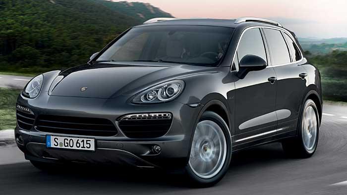 Porsche setzt den Verkauf von Cayenne Diesel in den Staaten aus.