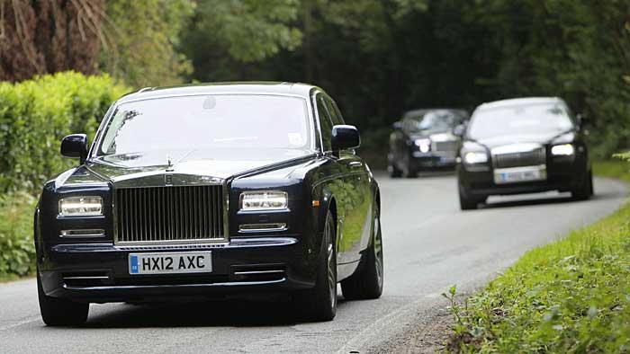Rolls-Royce: Ghost trifft Phantom