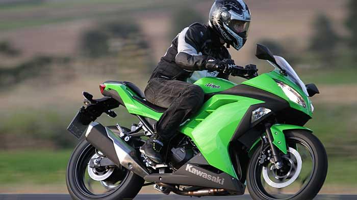 Die Kawasaki Ninja ist gewachsen.