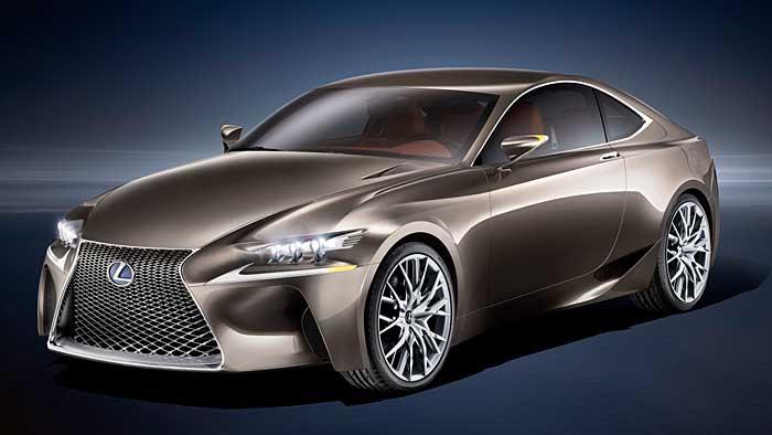 Die Lexus-Studie LF-CC weist auf das neue Mittelklassemodell hin.