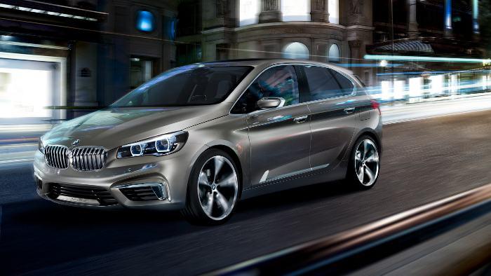 Der BMW Active Tourer.