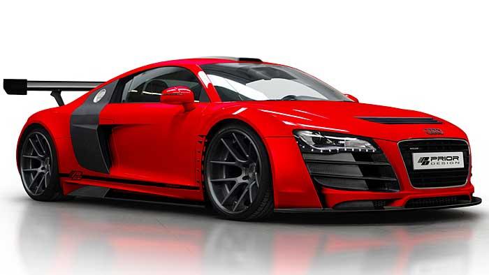 Prior-Design hat den Audi R8 optisch nachgeschärft.