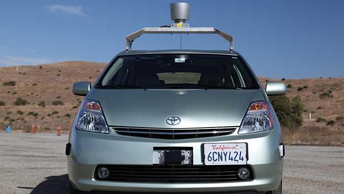 Roboter-Auto von Google.