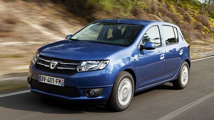 Dacia feiert Sandero und Sandero Stepway