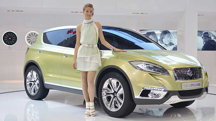 Ende 2013 soll die Suzuki-Studie Concept S-Cross in Serie gehen.