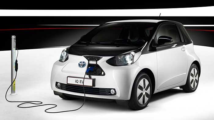 Toyota iQ-EV: Sparsamstes Elektroauto weltweit