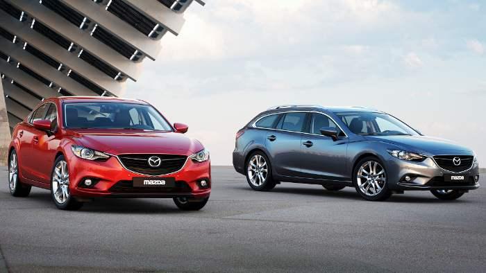 Mazda6 Kombi und Limousine kosten das gleiche.