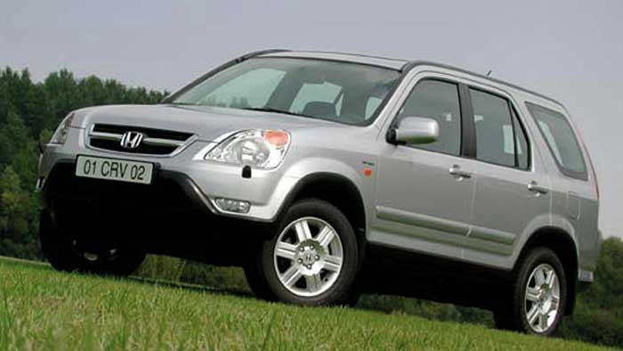 Honda muss Honda CR-V der zweiten Generation zurückrufen.