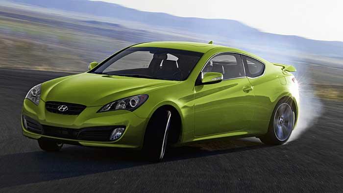 Hyundai hat das Genesis Coupé überarbeitet.