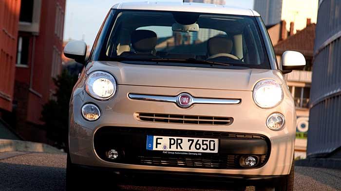 Der Fiat 500L kommt im Oktober auf den Markt.