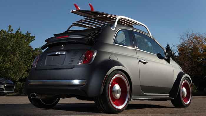 Fiat lädt mit der Studie 500C