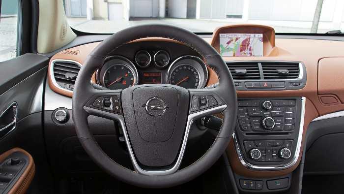 Das Cockpit im Opel Mokka