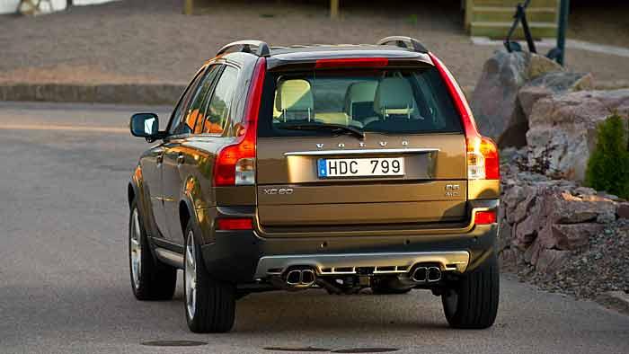 Der Volvo XC90 auf dem Weg ins Altenteil.