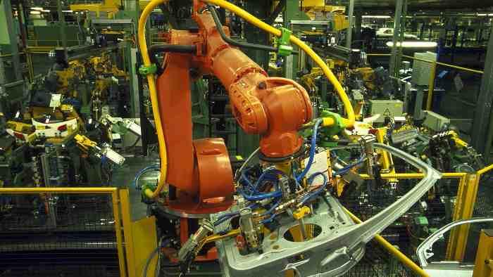 Die Produktion im Ford-Werk Genk in Belgien ruht derzeit.