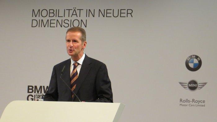 BMW-Entwicklungsvorstand Herbert Diess.