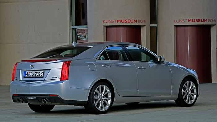 Der Cadillac ATS ist der kleinste Vertreter der Modellpalette.
