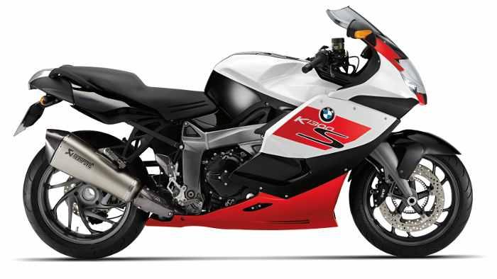 Sondermodell der BMW K 1300 S.