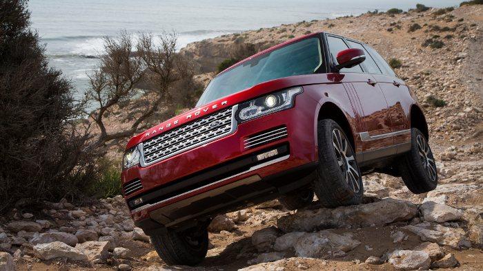 Range Rover: Fische im Rückspiegel