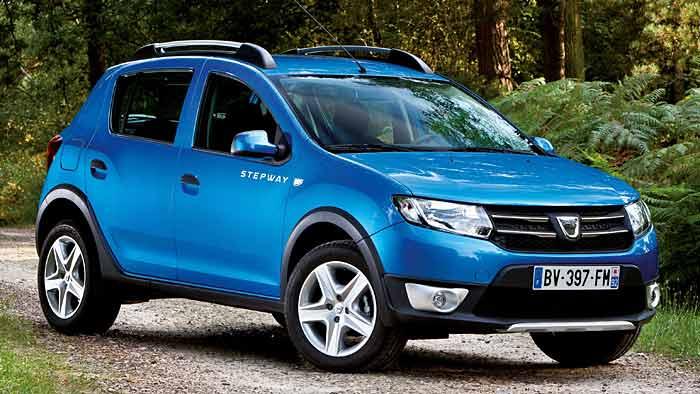 Der Dacia Sandero Stepway wird von 60 Prozent der Kunden gewählt.