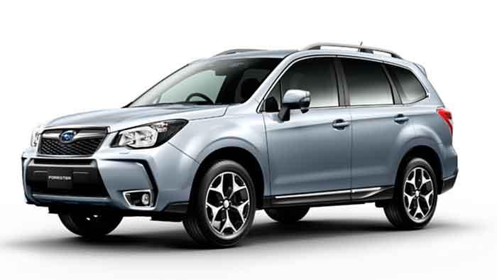Subaru Forester mit neuem Top-Motor