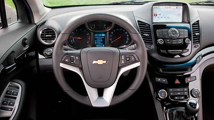 Chevrolet Orlando Benziner Auf Berholkurs Autogazette