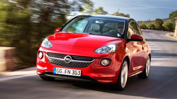 Der Opel Adam rollt im Januar zu den Händlern.