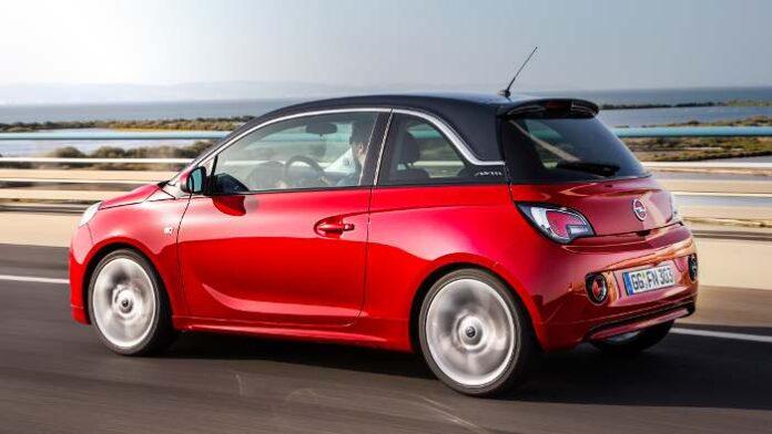Die Seitenlinie des Opel Adam.