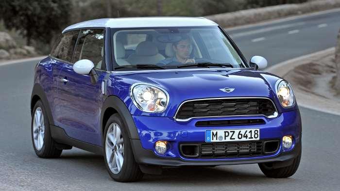 Der Mini Paceman ist die siebte Baureihe des BMW-Tochter.