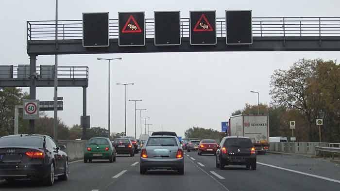 Auf den Autobahnen wird es wieder voller