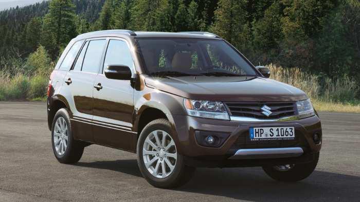 Suzuki Grand Vitara: Ende nicht nur im Gelände