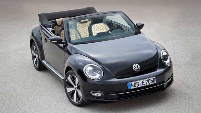 Das VW Beetle Cabrio Exclusive.