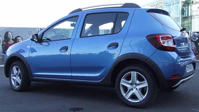 Die zweite Generation des Dacia Sandero kommt im Januar.