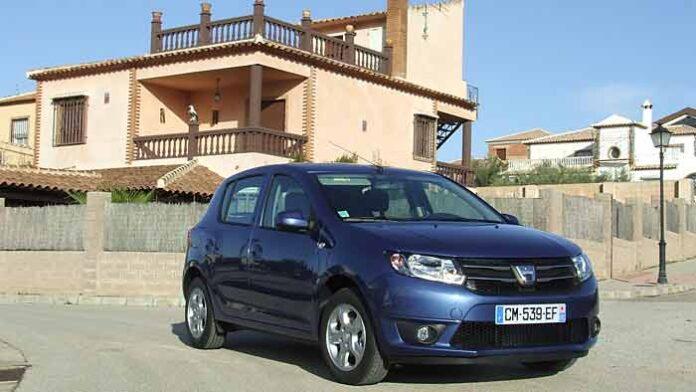 Ein Dacia Sandero der zweiten Generation.