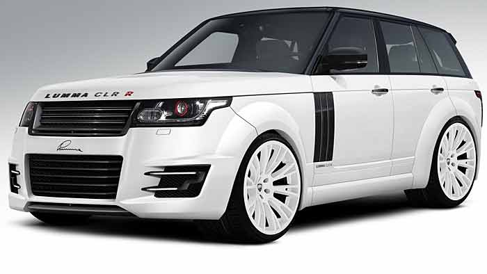 Ein tiefergelegter Range Rover taugt eigentlich nicht zum Vorbild als Geländewagen.