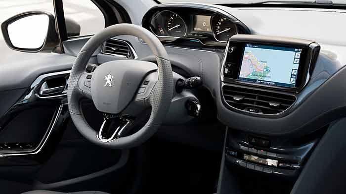Der Peugeot 208 präsentiert sich sehr agil.