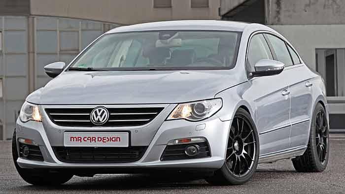MR Car Design hat die Leistung des VW CC auf über 500 PS gesteigert.